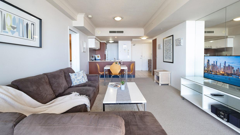 Chevron Renaissance apartment