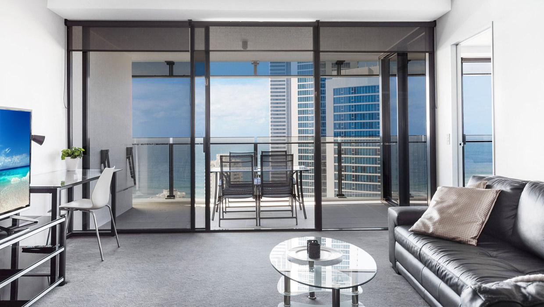 Circle on Cavill ocean view apartment