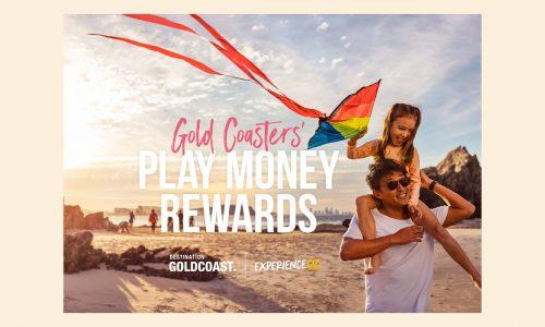 Play money rewards voucher Gold Coast