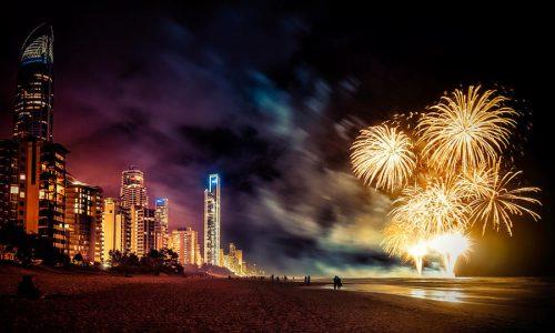 Surfers Paradise SeaFire 2019 fireworks