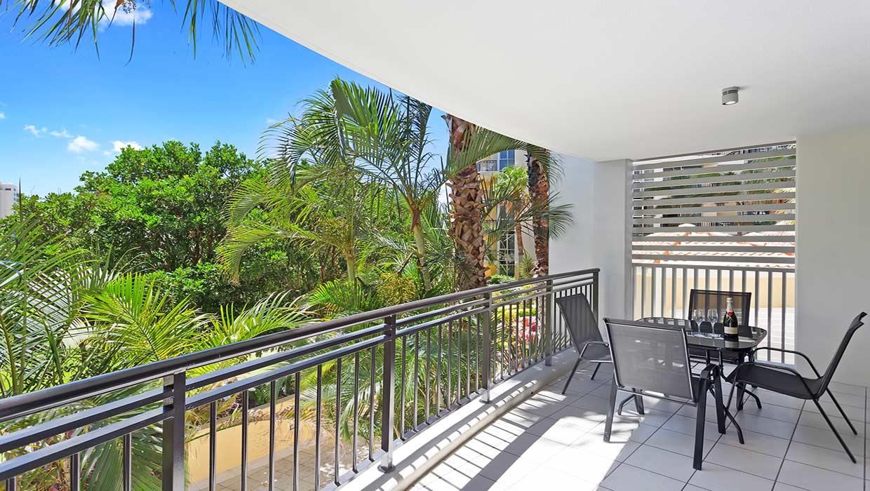 Chevron Renaissance level 6 garden views balcony